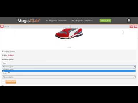 Magento Mobile Theme Mage.club