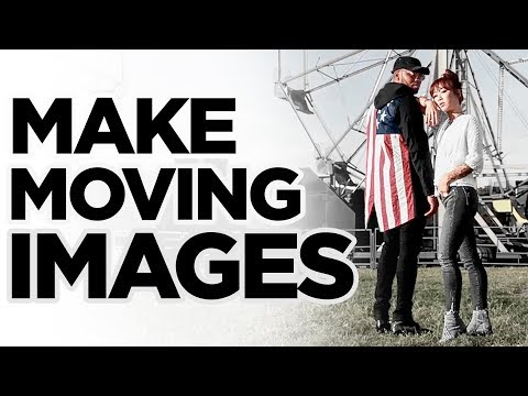 How To Make Cinemagraphs feat. Claire Marshall | Moving Images | DevanOnTech