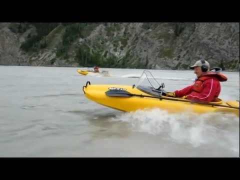 Running a Mokai on the Copper River in Alaska