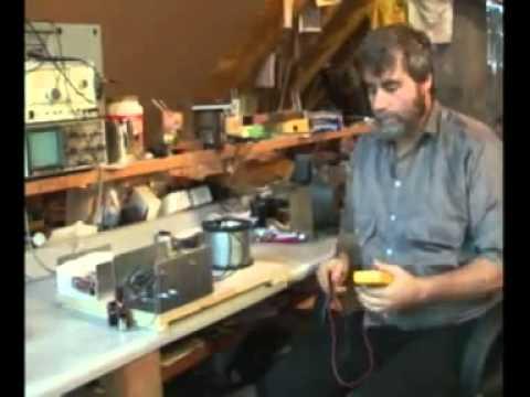Self Running electronic motor prototype 1 of 3
