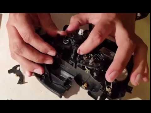 Rear door lock actuator repair BMW E90 335i
