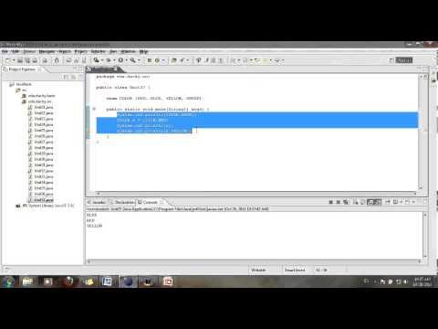 Java cơ bản 37: Enum 1