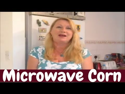 Microwave corn on The Cob without the Husk super simple
