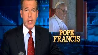 NBC Nightly News - Pope Francis Special - 13.03.2013