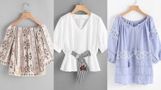 Latest designs of cotton tops for this summer | 2019 loose cotton tops designs | Revamp it