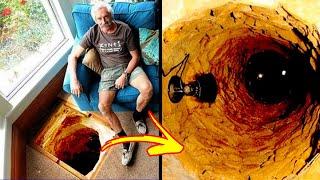 12 Creepy Things Found Hidden In Peoples Homes