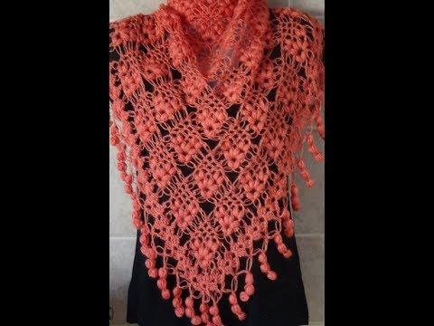Crochet Pattern  * VERY PRETTY CROCHET PATTERN FOR A SHAWL*