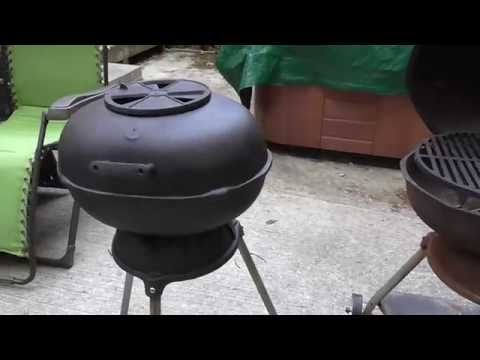My cast iron hibachi grill collection - Part 1