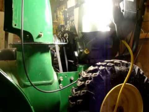 (NSFW) John Deere 928E Snow blower Auger belt change PT 1