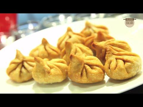 How To Cook तळलेले मोदक - Fried Modak By Archana - Easy Fried Modak Recipe - Ganesh Chaturti Special