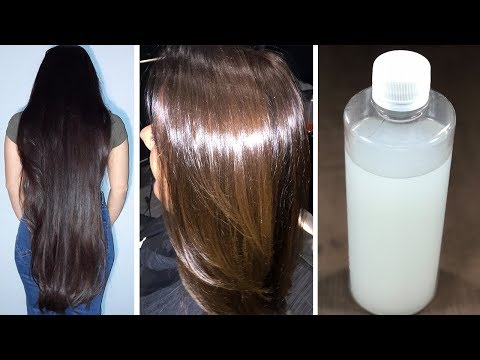 Get Extreme Long, Shiny, Smooth Hair with fermented Rice Water | Super Fast Hair Growth(100% Result)