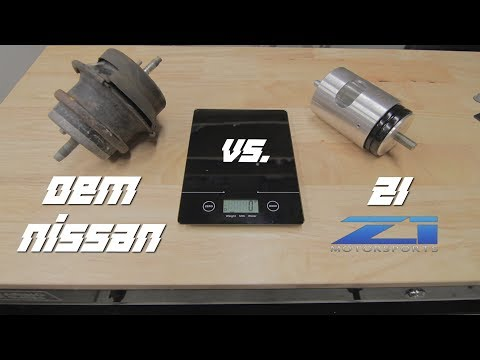 Installing Z1 Motor Mounts on Nissan 370z + Review