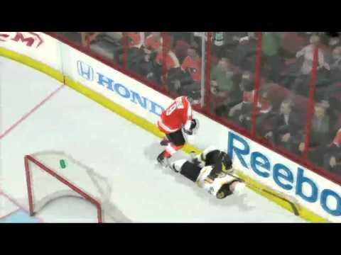 NHL 11 Second Round Playoff Sim- Boston vs. Philadelphia