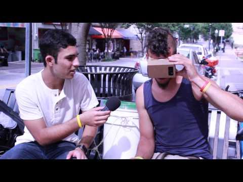 People's Reaction To Google Cardboard!