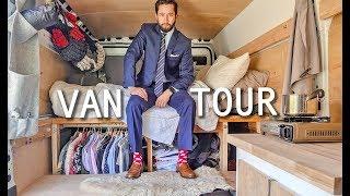 Young Professional Tries Vanlife   Custom Van Build & Tour
