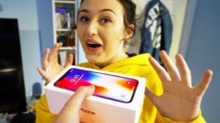 SURPRISING my GIRLFRIEND with IPHONE X & This Happened... (SHOCKING)