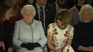 Queen Elizabeth II makes fashion week debut with Vogue