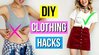 5-Minute DIY Clothing Hacks You Should Try!