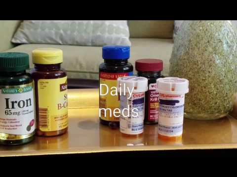 My daily Lupus Meds