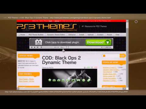 How To Get Free Dynamic PS3 Themes!