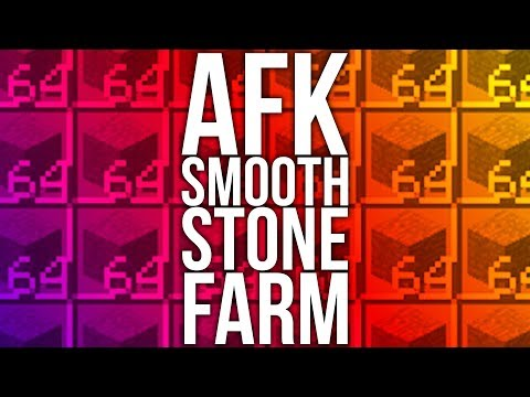 How to Build an AFK Smooth Stone Generator in Minecraft