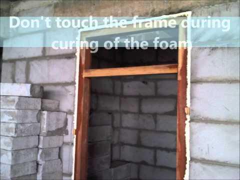 Door frame installation.wmv