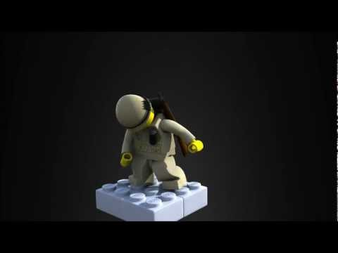 3D Lego character animation