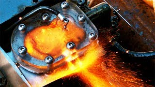 See Through Engine on NITROMETHANE  - 4k Slow Motion ( Blow Up Attempts 1 -9 Crazy ! )