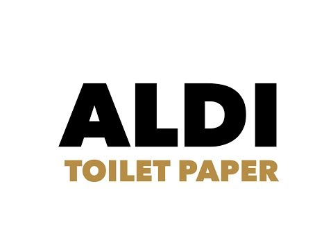 Aldi toilet paper - 1000 sheets of fun for your bum