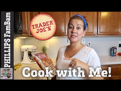 COOK WITH ME | TRADER JOE'S TERIYAKI CHICKEN & BROWN RICE BOWL | PHILLIPS FamBam Cook with ME