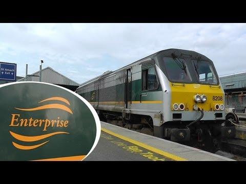 Dublin to Belfast on the Enterprise...