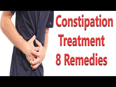 8 Remedies For Constipation Treatment