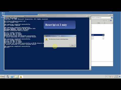 Rename Domain - Windows Server 2008 R2