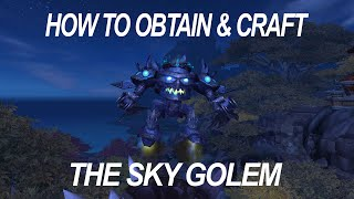 How to Obtain and Craft the Sky Golem Mount