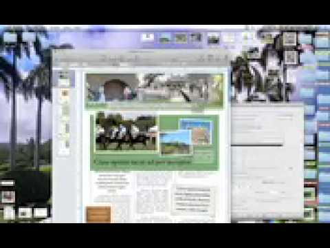 How To Create a Newsletter on a Mac Tutorial - iPhone (Cellular).3gp
