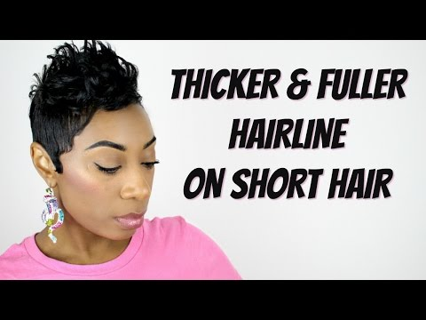 How To Get A Fuller & Thicker Hairline | Kaye Wright