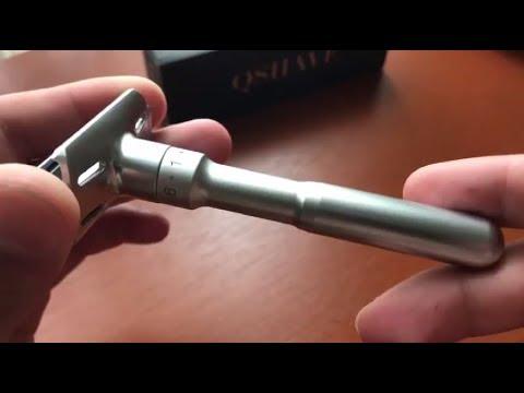 Qshave Man Razor - Merkur Futur Replica (Unboxing)