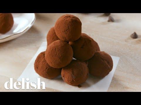 Keto Chocolate Truffles | Delish