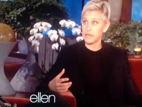 Ellen with a high pitch voice