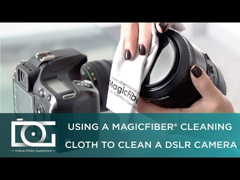 CAMERA CLEANING TUTORIAL | How to Clean a Camera Using a Microfiber Cleaning Cloth | By MagicFiber®