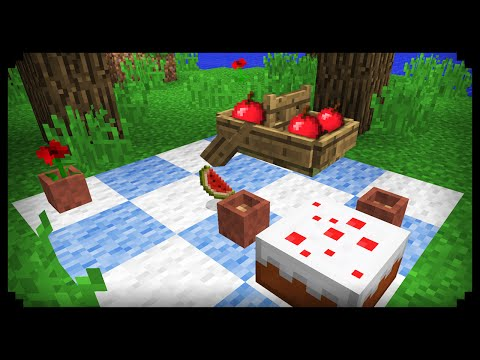 ✔ Minecraft: How to make a Picnic