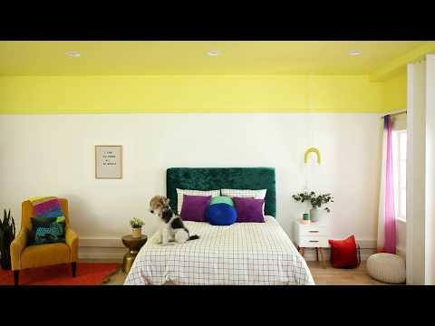 Handygirl's Guide: Bedroom Ceiling Makeover