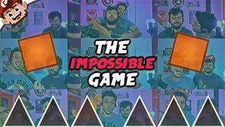 The IMPOSSIBLE GAME Returns! | Chilled & Ze Battle/Troll Each Other!  (The Impossible Game)