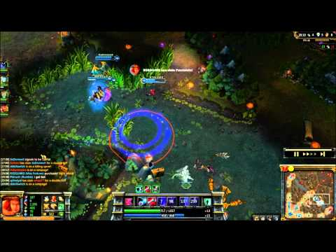 League of Legends Face Melting Dragon Fight