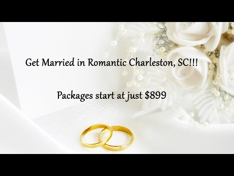 Charleston, SC Destination Wedding Packages from $899