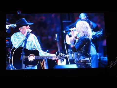 George Strait ft. Miranda Lambert - Run (live @ AT&T Stadium 06/07/2014)