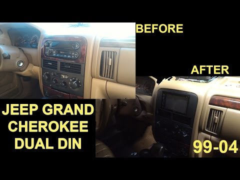 1999-2004 Jeep Grand Cherokee Dual Din Touchscreen Installation Tips