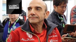 WRC 2018: INTERVIEW Pierre Budar