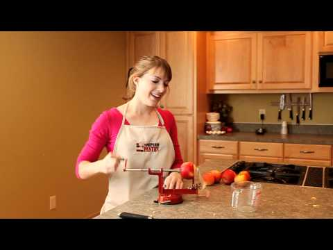 Peel, Core, and Slice apples in 15 seconds.MOV