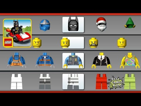 LEGO® Juniors Create & Cruise HD | Create New LEGO VEHICLES & MINIFIGS! By LEGO System A/S